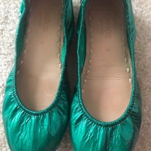 Emerald Tieks